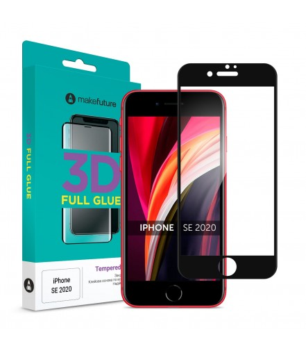 Захисне скло MakeFuture 3D Apple iPhone SE 2020 Black