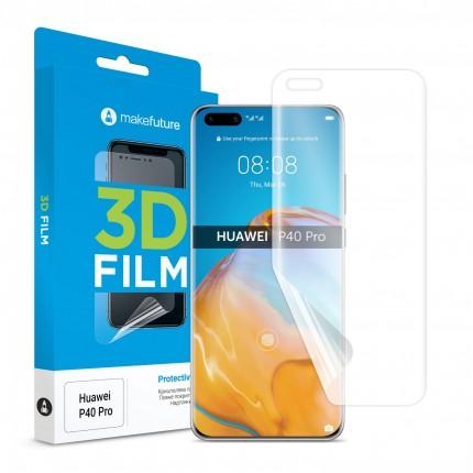 Захисна плівка 3D TPU Huawei P40 Pro
