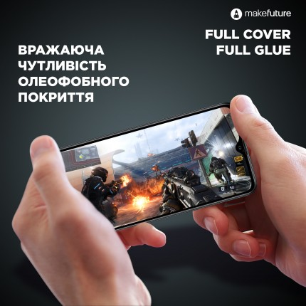 Захисне скло MakeFuture Full Cover Full Glue Xiaomi Redmi Note 7