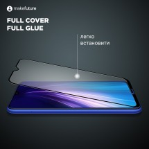 Захисне скло MakeFuture Full Cover Full Glue Samsung A10 (A105)