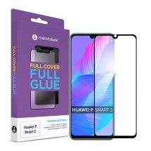 Захисне скло MakeFuture Full Cover Full Glue Huawei P Smart S Black
