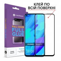 Захисне скло MakeFuture Full Cover Full Glue Huawei Nova 5T