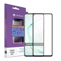 Захисне скло MakeFuture Full Cover Full Glue Huawei P Smart 2021 Black