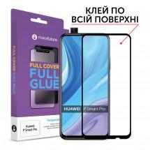 Захисне скло MakeFuture Huawei P Smart Pro Full Cover Full Glue Black