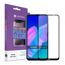 Захисне скло MakeFuture Full Cover Full Glue Huawei P40 Lite E