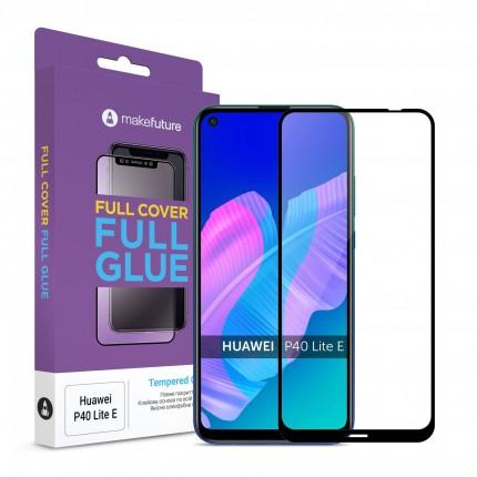 Захисне скло MakeFuture Full Cover Full Glue Huawei P40 Lite E