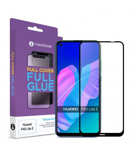 Захисне скло MakeFuture Huawei P40 Lite E Full Cover Full Glue