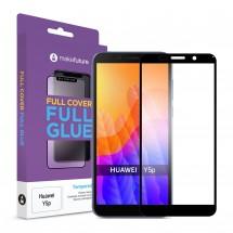 Захисне скло MakeFuture Huawei Y5p Full Cover Full Glue Black