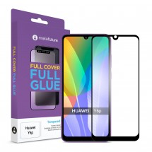 Захисне скло MakeFuture Full Cover Full Glue Huawei Y6p Black