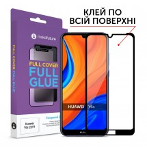 Захисне скло MakeFuture Full Cover Full Glue Huawei Y6s 2019 Black