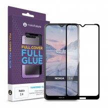 Захисне скло MakeFuture Nokia 2.4 Full Cover Full Glue Black