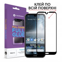 Захисне скло MakeFuture Nokia 4.2 Full Cover Full Glue