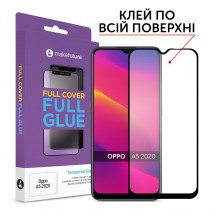 Захисне скло MakeFuture Oppo A5 2020 Full Cover Full Glue