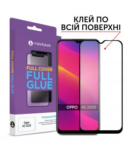Захисне скло MakeFuture Full Cover Full Glue Oppo A5 (2020)