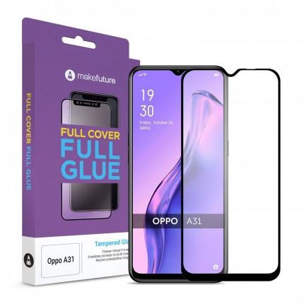 Захисне скло MakeFuture Full Cover Full Glue Oppo A31