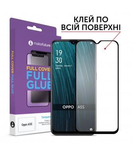 Захисне скло MakeFuture Full Cover Full Glue Oppo A5s
