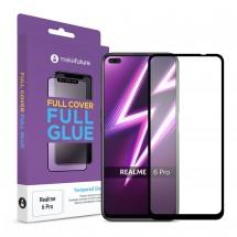 Захисне скло MakeFuture Full Cover Full Glue Realme 6 Pro