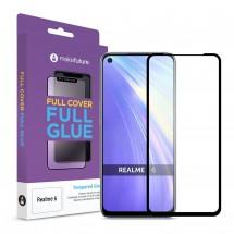 Захисне скло MakeFuture Full Cover Full Glue Realme 6