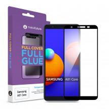Захисне скло MakeFuture Full Cover Full Glue Samsung A01 Core