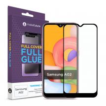 Захисне скло MakeFuture Samsung A02 Full Cover Full Glue