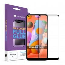 Захисне скло MakeFuture Full Cover Full Glue Samsung A11