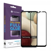 Захисне скло MakeFuture Samsung A12 Full Cover Full Glue