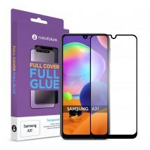 Захисне скло MakeFuture Full Cover Full Glue Samsung A31