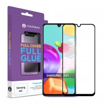 Захисне скло MakeFuture Full Cover Full Glue Samsung A41