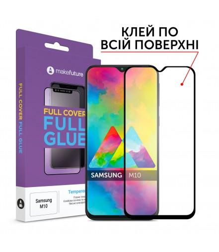 Захисне скло MakeFuture Full Cover Full Glue Samsung M10