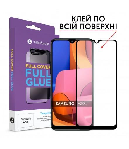 Захисне скло MakeFuture Full Cover Full Glue Samsung A20s