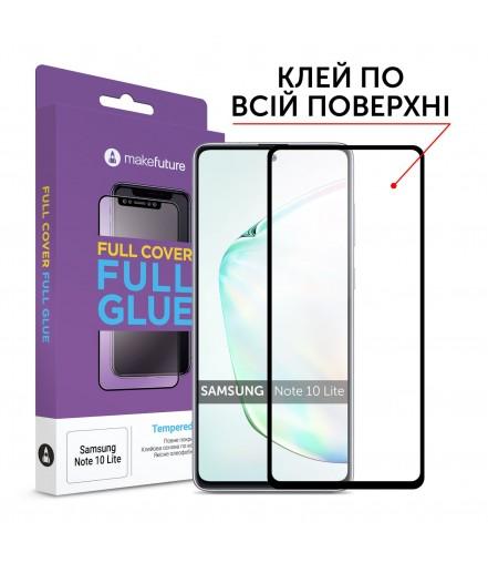 Захисне скло MakeFuture Full Cover Full Glue Samsung Note 10 Lite