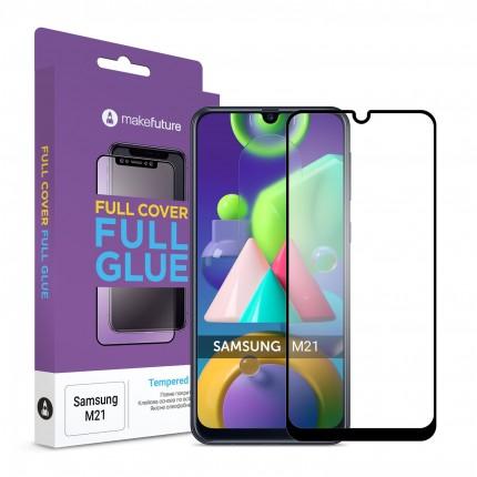 Захисне скло MakeFuture Full Cover Full Glue Samsung M21