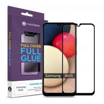 Захисне скло MakeFuture Samsung A02s Full Cover Full Glue