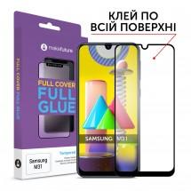 Захисне скло MakeFuture Full Cover Full Glue Samsung M31
