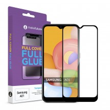 Захисне скло MakeFuture Full Cover Full Glue Samsung A01