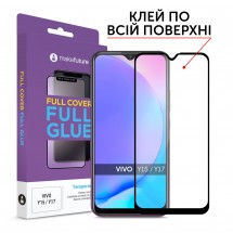 Захисне скло MakeFuture Full Cover Full Glue Vivo Y15/Y17
