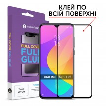 Захисне скло MakeFuture Full Cover Full Glue Xiaomi Mi 9 Lite