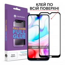 Захисне скло MakeFuture Full Cover Full Glue Xiaomi Redmi 8