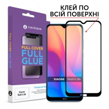Захисне скло MakeFuture Full Cover Full Glue Xiaomi Redmi 8A