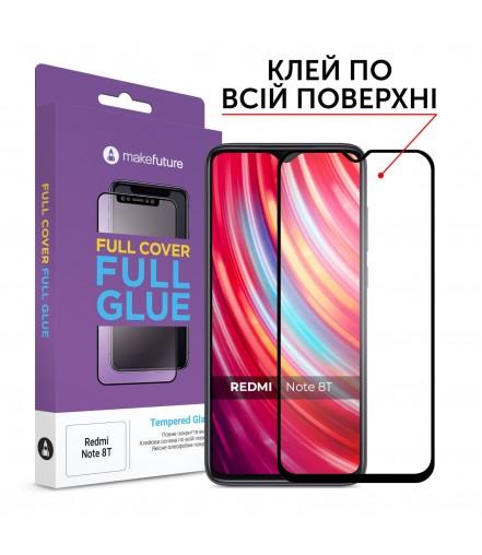Захисне скло MakeFuture Full Cover Full Glue Xiaomi Redmi Note 8T Black