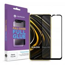 Захисне скло MakeFuture Xiaomi Poco M3 Full Cover Full Glue Black