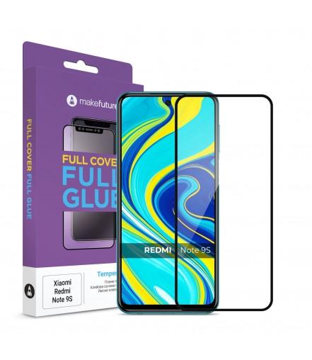 Захисне скло MakeFutur Xiaomi Redmi Note 9S Full Cover Full Glue