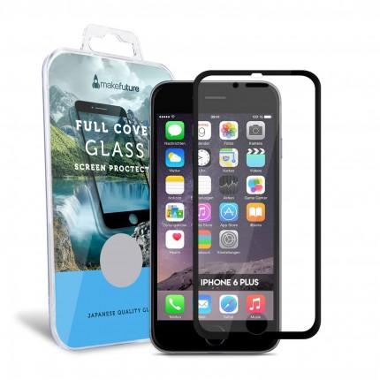 Захисне скло MakeFuture Apple iPhone 6 Plus/6S Plus Metal Edge Black