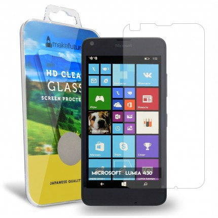 Захисне скло MakeFuture Microsoft Lumia 430