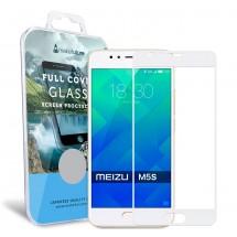 Захисне скло MakeFuture Full Cover Meizu M5s White