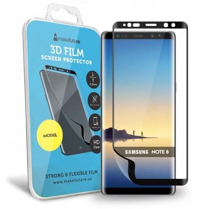 Захисна плівка MakeFuture 3D Samsung Note 8 Black