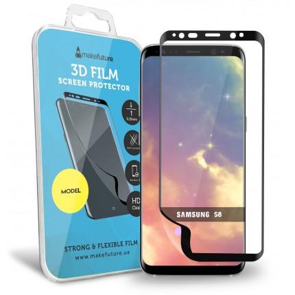 Захисна плівка MakeFuture 3D Samsung S8 Black
