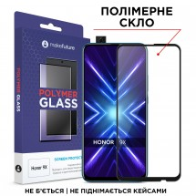 Захисне скло MakeFuture Polymer Glass Honor 9X