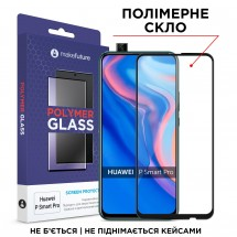 Захисне скло MakeFuture Polymer Glass Huawei P Smart Pro