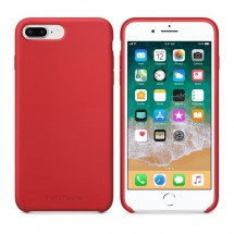 Кейс MakeFuture Apple iPhone 7 Plus/8 Plus Silicone Red